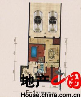 上东九号: F-1户型图