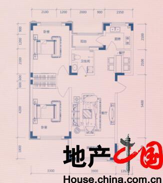欣凤学城户型图:J户型多层