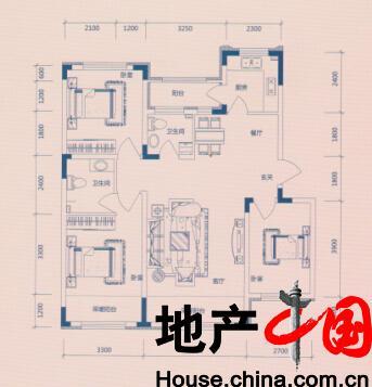 欣凤学城户型图:K户型多层