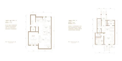 M中户型 4室4厅5卫