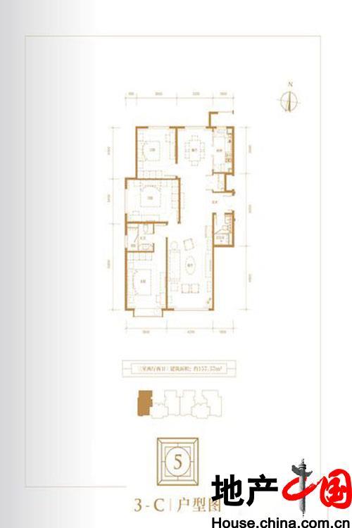 5号楼3-C户型图