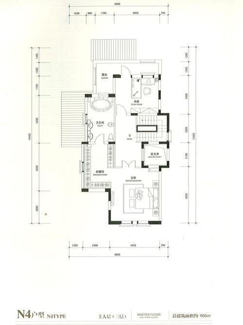 N4户型 5室3厅3卫
