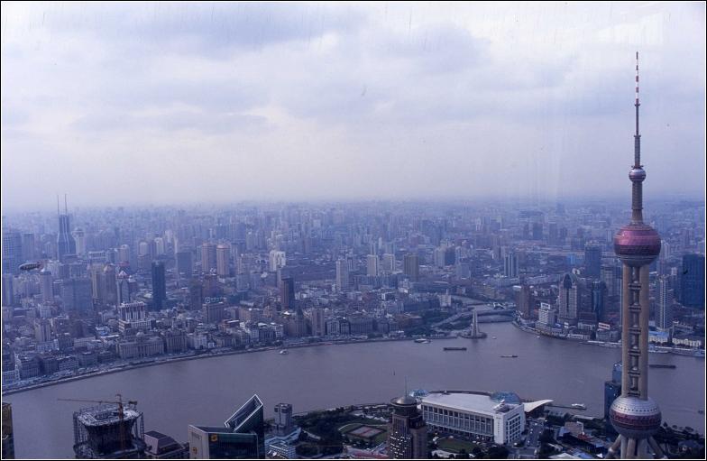 长三角龙头城市上海风貌