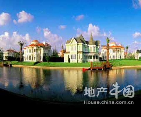 月光方舟(姜庄湖别墅别墅)碧海园林云百度图片