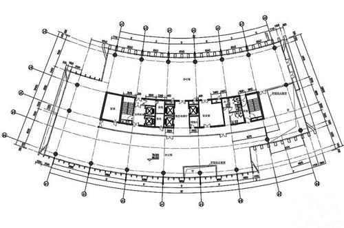 大型酒店餐饮平面图
