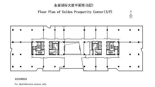 五层电梯系统接线图