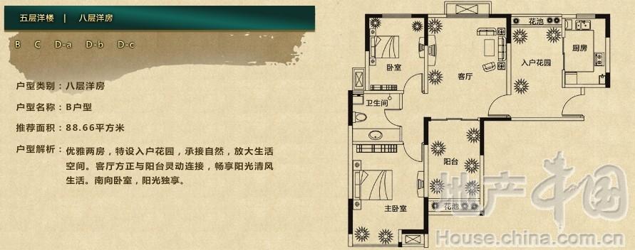 鑫苑逸品香山 别墅户型