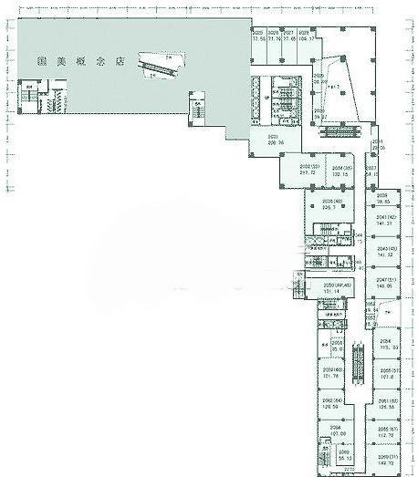四层别墅内部结构图