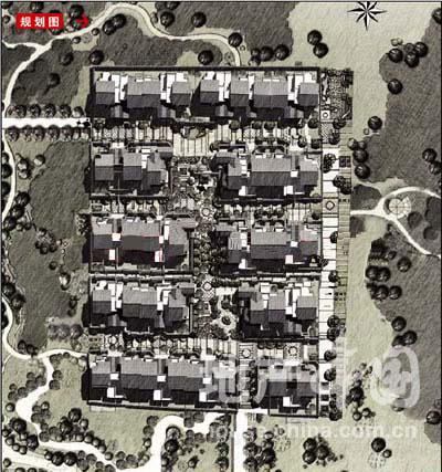 别墅景观电路cad图