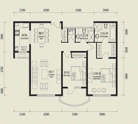 网路系统:预留idd电话接线及网路介面;每户厅