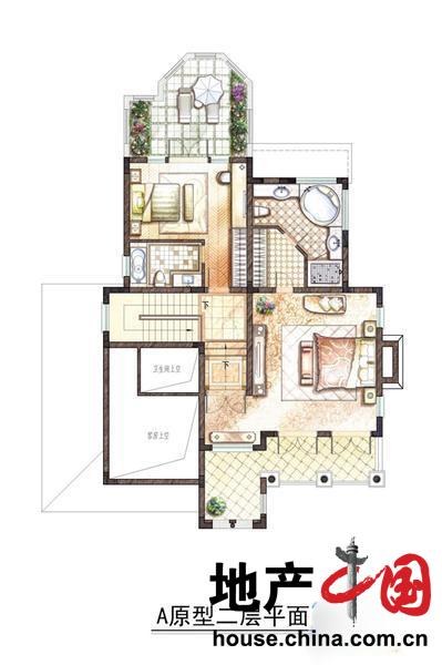 A原型地下室平面图-豪宅别墅楼盘图片列表页图片