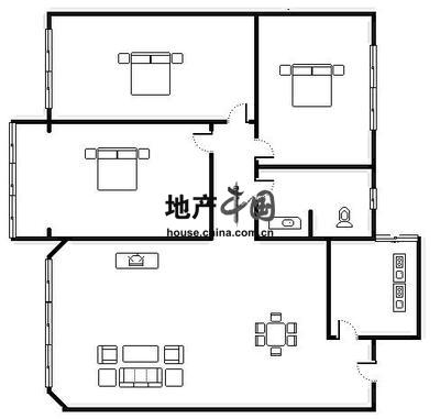 民居内部结构图