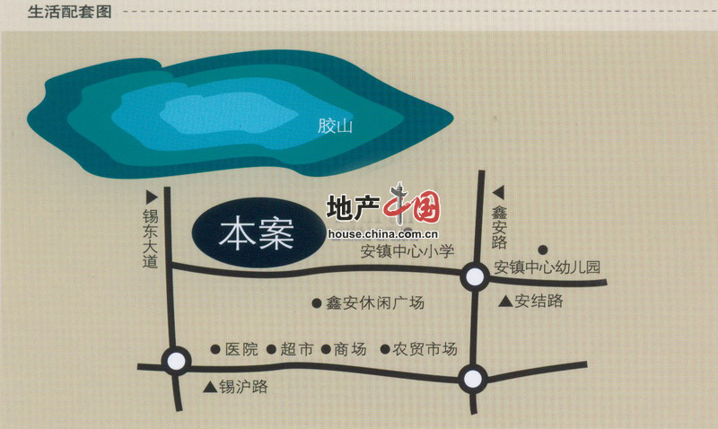 华夏大道路线图