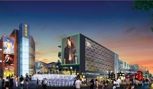 澄江福地商业步行街区效果图-无锡新房-地产中国网