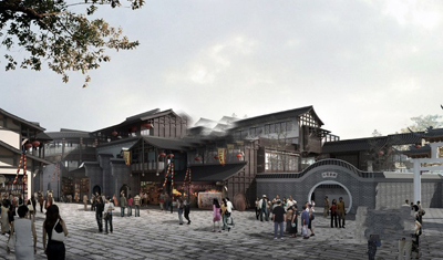 文峰古街图片