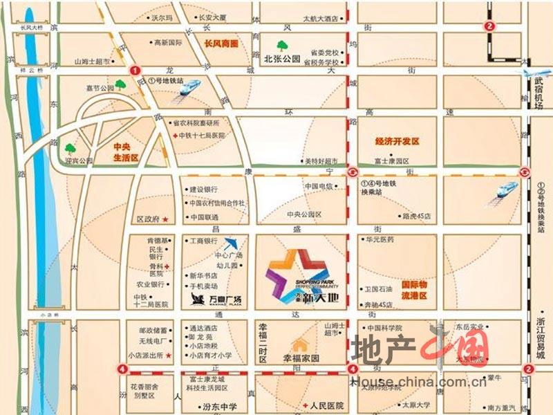 杏花岭经园路280号(五龙口