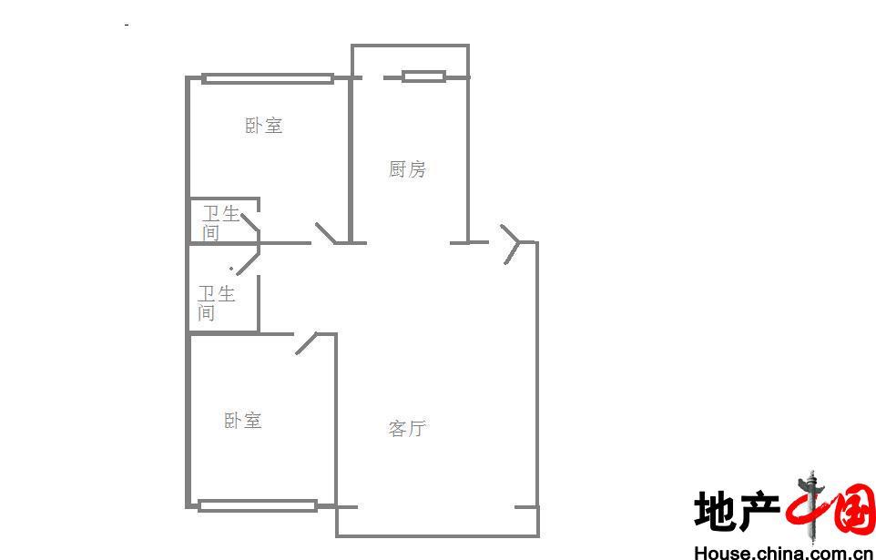 宝宇二期户型图一号楼