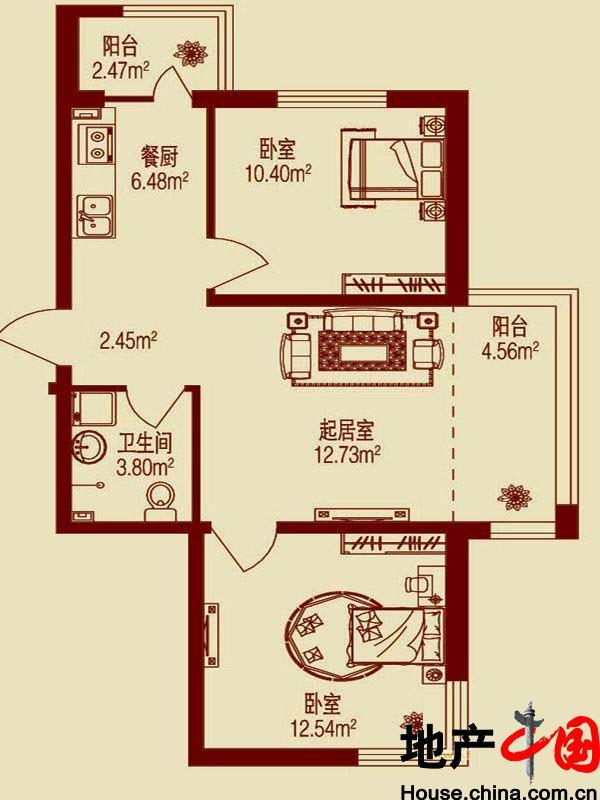 将高层建筑与中国传统建筑符号结构重组,用现在手法将中国传统的居住