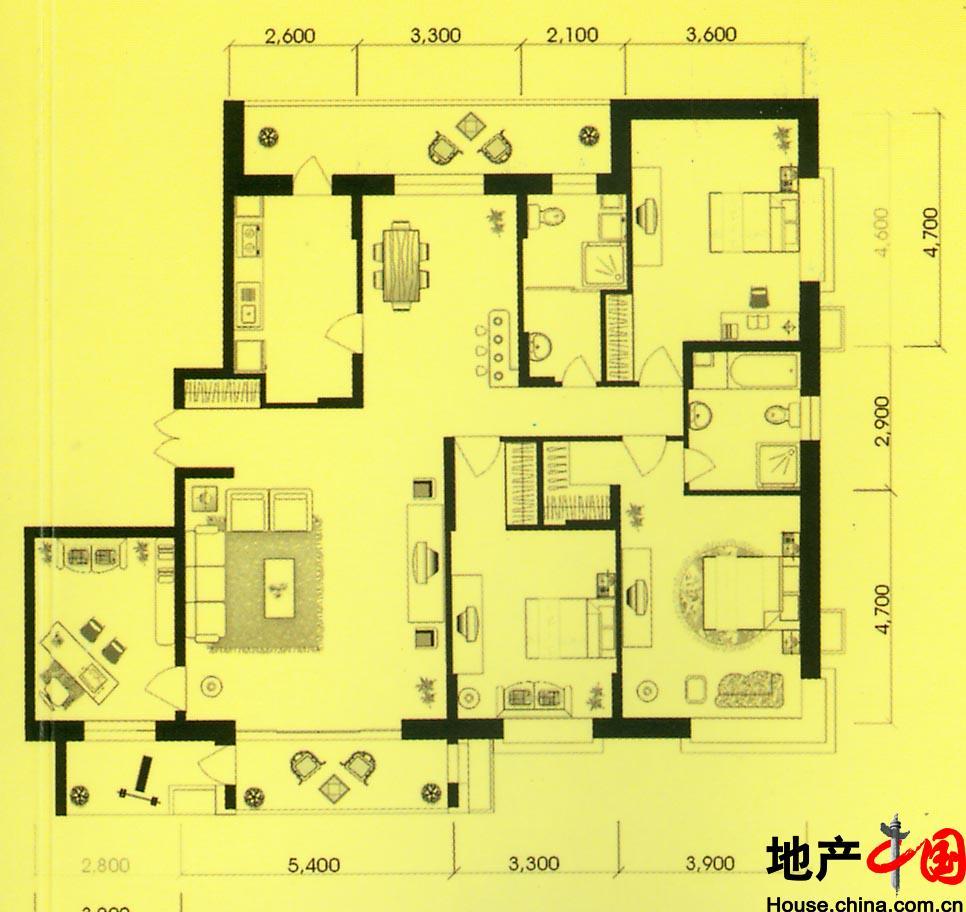 自制别墅平面设计图纸