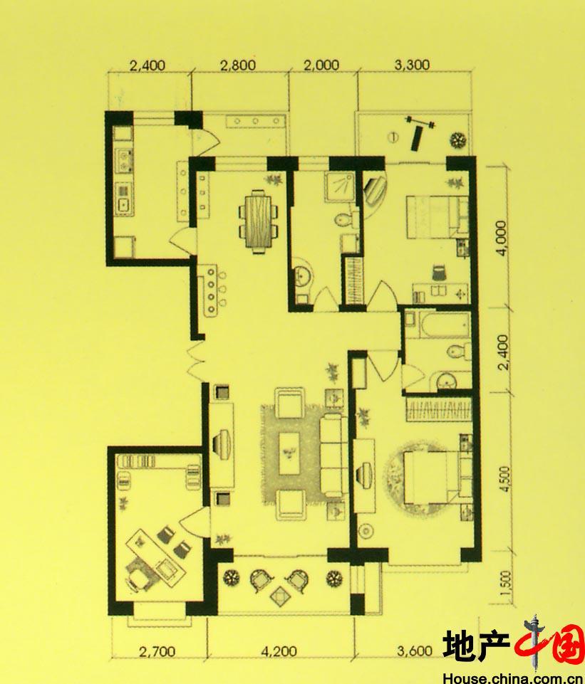 别墅供水系统设计图