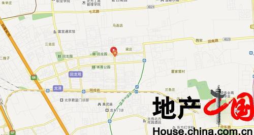 北京新房 昌平 紫晶七星广场 相册 >> 交通图  紫晶七星广场 共有图