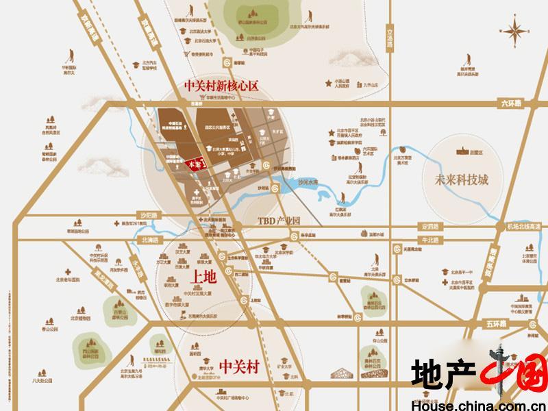 北京新房 昌平 龙湖滟澜新宸 相册 >> 交通图  共有图片1张 共1页 1