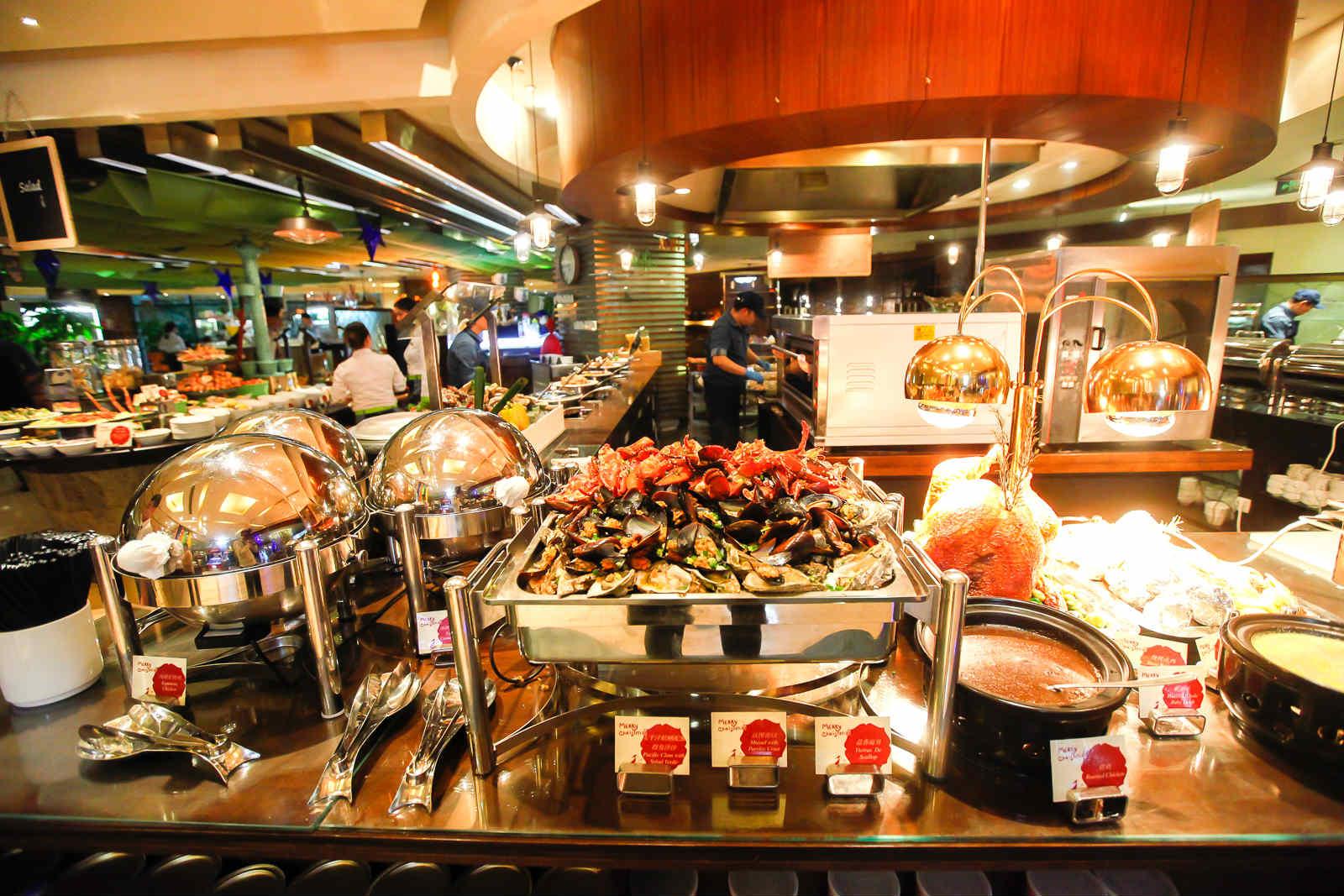成都 旅居资讯  每周一至周日,抢购【凯宾斯基怡时自助餐厅】晚餐自助图片