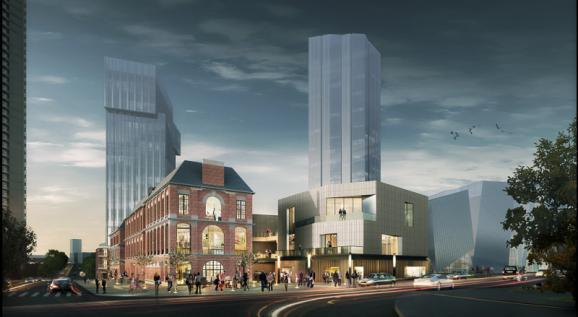 市场  未来,除了绿地468•熙街之外,成都绿地中心468的商业集群还