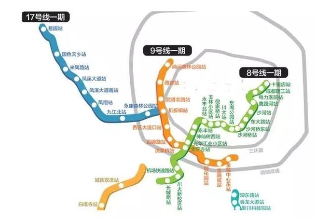 成都地铁规划图2030年
