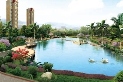 居住区首入白鹤岛生态圈 恒大盛推289亩城市原墅上林苑