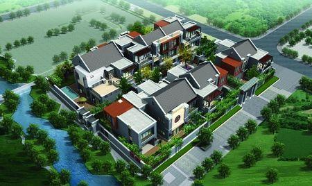 鲁能·领秀城即将揭开新中式合院面纱(图)图片