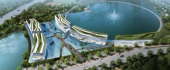 """重庆""""水立方"""" 顶级定制商业棕榈岛即将面世-品牌 ..."""