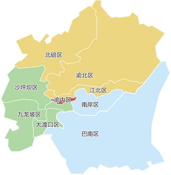 重庆春季房交会明日;; 春交会主城优惠项目地图 徐侨唯制; 春