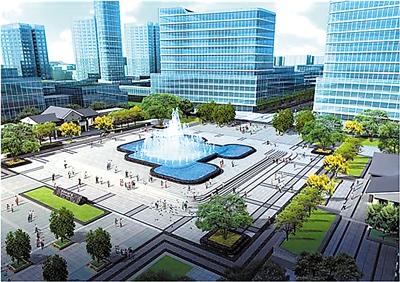 合肥新城国际_西永中央广场年内建成 将成重庆新地标-大头条-重庆-中国网地产