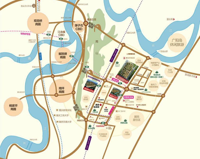 奥园西溪半岛地图