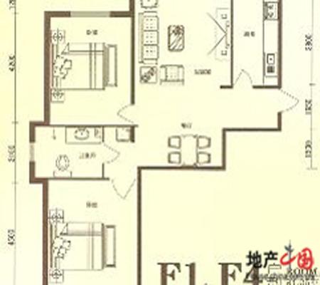 青岛市金秋小区户型图