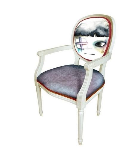 素描椅子步骤图解法