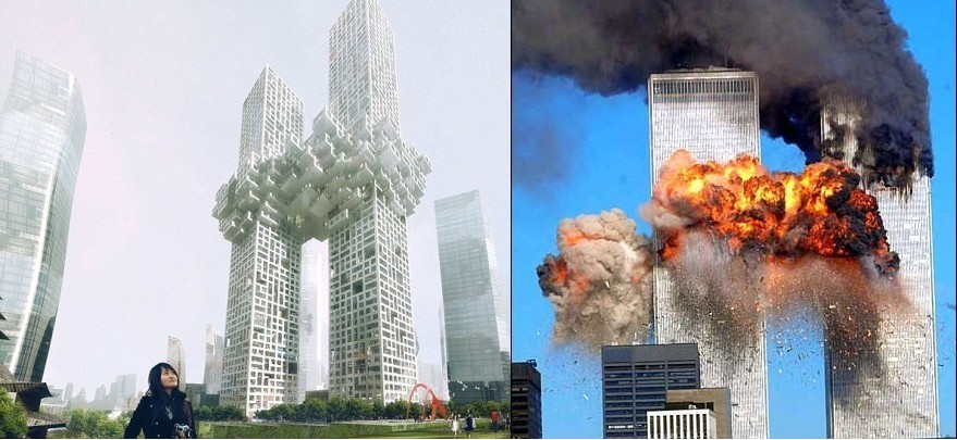 纽约世贸双子塔