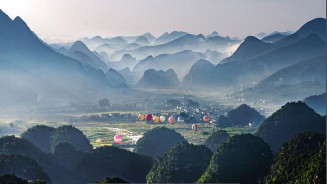 州高铁贵州旅游风景