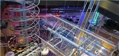 世界最大过山车主题餐厅 用轨道送餐【图】