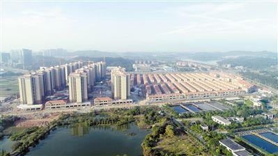 广州挂绿湖安置房将竣工 回迁户可选别墅或公寓-中国网地产