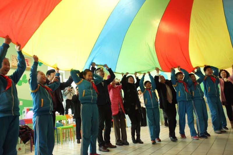 國內首個美麗心靈教室開創代際互動新模式-中國網地産