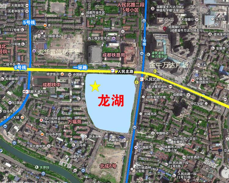 龙湖最新项目 挺进成都一环路!-中国网地产