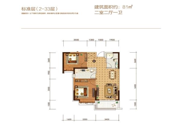秦皇岛恒大悦府户型图公布-中国网地产