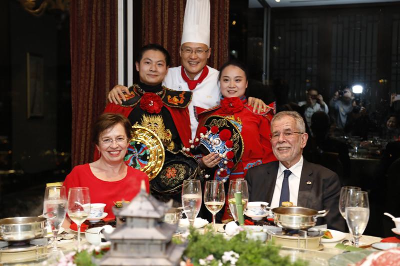 奥地利总统总理齐访川期间入住的成都香格里拉大酒店-中国网地产