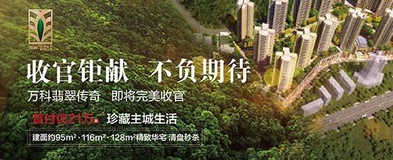 贵阳万科翡翠传奇收官钜献精致华宅首付仅21万-中国网地产