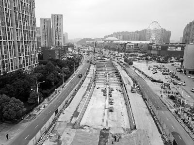 大桥北路隧道南段底板贯通 解决桥北和江北大道之间拥堵-中国网地产