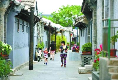 京城唯一南北向胡同群整治后亮相 曾坐落上百家会馆-中国网地产