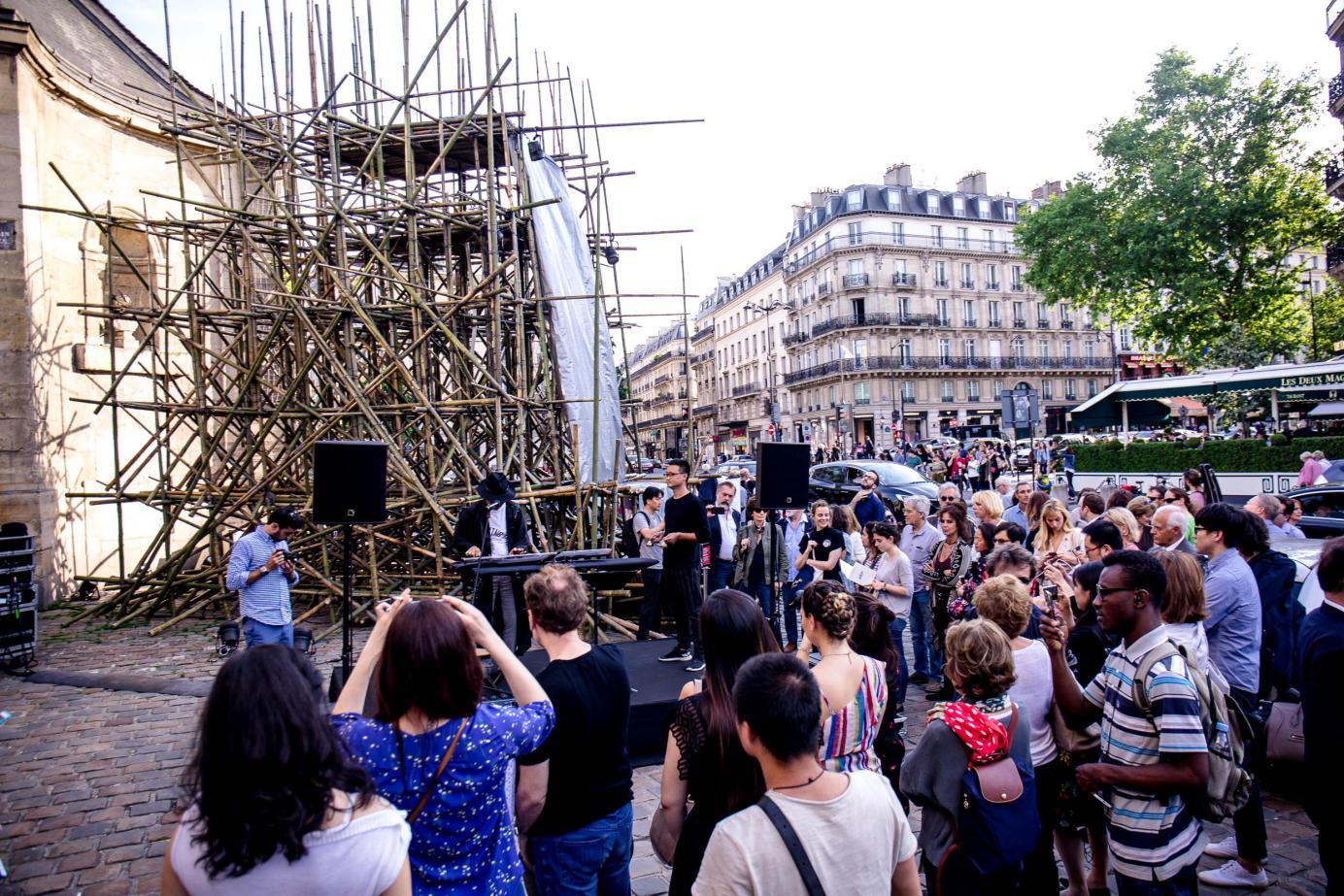 成都IFS携四川艺术家代表首度参与巴黎左岸圣日耳曼Parcours艺术节 -中国网地产