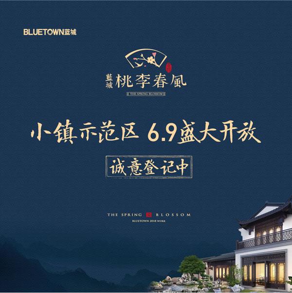 明日盛启蓝城贵阳桃李春风中式院墅示范区开放仪式图片